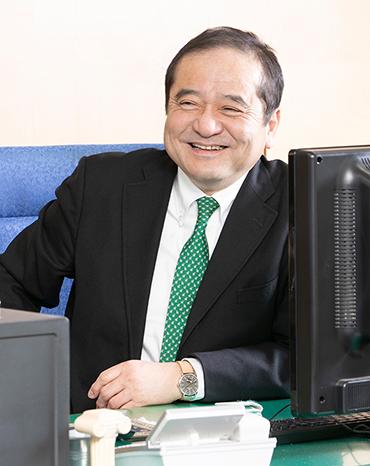 Managing Director Hideaki Ishimoto